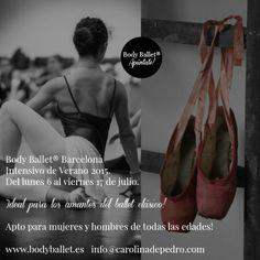 Intensivo de ballet, verano 2015  TEMPORADA 9. Apúntate al Intensivo del verano!  http://www.bodyballet.es/intensivo-de-ballet-verano-2015/  Body Ballet® Intensivo 2015.