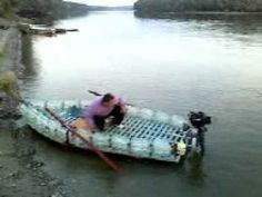 how To build a plastic bottle boat
