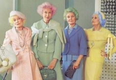 Pastel ladies