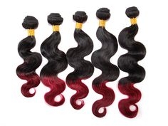 50g Brazilian Human Hair Extension Ombre Dip-dye 2) Tone body wave Remy Weft #WIGISShair #bodywave