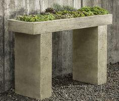 Trough Garden Console Table