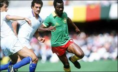 Group stage,legendary Milla on pictures,Italy vs Cameroon 1-1