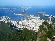 """Rio de Janeiro - one of the most beautiful places I've ever been. From the beaches of Copacabana, Leblon, and Ipanema where you'll find countless beautiful people in every turn, to the high peaks of the Corcovado and the Sugarloaf Mountain where you'll be astounded by an overwhelming panoramic view of the city and its natural wonders, Rio truly deserves to be called the famous prhase, """"Cidade Maravilhosa"""" (Marvelous City)."""