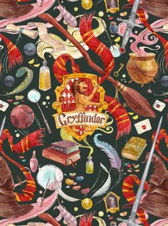 Gryffindor pattern by CoalRye