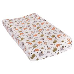 Friendly Forest Deluxe Flannel Changing Pad Cover