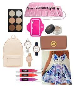 """Untitled #12"" by suvisfi on Polyvore featuring beauty, PB 0110, ASOS Curve, Kate Spade, FOSSIL, Forever 21, Anastasia Beverly Hills, Beauty Rush and Michael Kors"