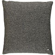 Tutti Home Grey Herringbone Cushion 50x50cm