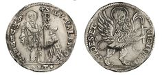 NumisBids: Numismatica Varesi s.a.s. Auction 67, Lot 457 : VENEZIA SILVESTRO VALIER (1694-1700) Leone per il Levante, sigle...