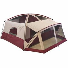 Camping Cabin Tent with Screen Porch 12 Person Outdoor Family Hiking Camp Sports #OzarkTrail #Dome