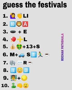 Puzzles And Answers, Math Logic Puzzles, Emoji Quiz, Emoji Games, Guess The Emoji Answers, Picture Puzzles Brain Teasers, Guessing Games For Kids, Ladies Kitty Party Games, Emoji Puzzle