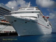 Carnival Paradise cruise ship profile, photo tour, menus, daily programs & more. http://beyondships.com/CarnivalParadise-Profile.html