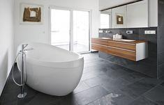 Rechthoekige tegels badkamer