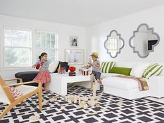 The playroom of everyone's dreams #hgtvmagazine http://www.hgtv.com/decorating-basics/decorated-by-mom-with-love/pictures/page-6.html?soc=pinterest