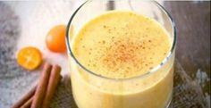 Mélanger le curcuma, le gingembre et le lait de coco et boire une heure avant d'aller au lit! Les résultats au matin sont incroyables