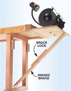 Hideaway Tool Stand - The Woodworker's Shop - American Woodworker