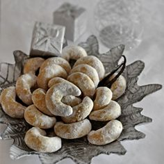 Vanilla Crescents are traditional Croatian Christmas cookies with wonderful flavor and a beautiful look for the table!  WJS