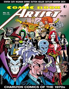 Comic Book Artist 12 - Click Image to Close