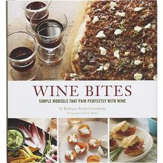 Wine Bites Book- simple morsels that pair perfectly with wine