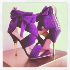 OOO, love these... Shoes Search on Indulgy.com #purple shoes www.hairshoppingmall.com blog.hairshoppingmall.com