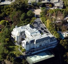 Celebrity Homes Michael Jackson Mansions Houses House