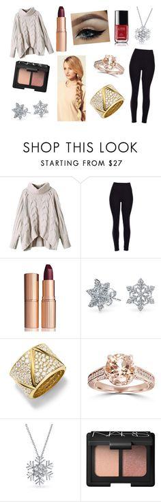 """""""Cause it's too cold for you here!"""" by rojoubdalia on Polyvore featuring Charlotte Tilbury, Bling Jewelry, Marina B, NARS Cosmetics, Chanel, Hershesons, women's clothing, women's fashion, women and female"""