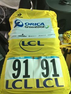 @blingmatthews My jersey for today #yellow can't wait for this day to start couldn't sleep last night thinking about putting this on