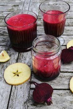 Beet Juice and other Detox Juice Brews