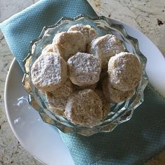 My Most Requested Recipes: Walnut Shortbread Cookies