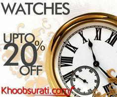 #Online_Shopping #Shopping_Online @ Khoobsurati.com Get Upto 20 % Off On #Women #Watches http://khoobsurati.com/women/accessories/watches