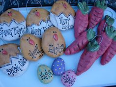 so let& get busy making some Easter salt dough ornaments. And the best part, be a sweet chick and leave me a comment to win your very ow. Christmas Crafts For Kids, Easter Crafts, Holiday Crafts, Easter Ideas, Santa Handprint Ornament, Salt Dough Christmas Ornaments, Homemade Ornaments, Salt Dough Crafts, Crafts For Seniors