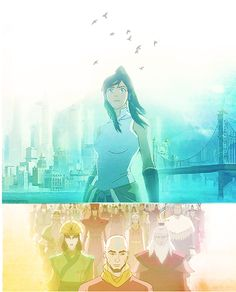 The Legend of Korra/ Avatar the Last Airbender: Avatars now and past
