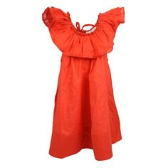 Elena Dress Poppy Red, How To Kiss A Frog