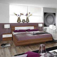 Une ambiance zen et design...  #chambre #meuble #déco
