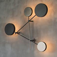 ERTE Custom Modern Art Deco Glas Rod Wand Leuchte Lampe gold Messing Bronze ModGlobe Sconce Minimal Sconce Gold Wandleuchte Mid Century