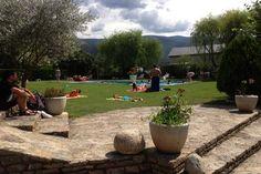 Amplis jardins, piscina d'estiu ... del Flòrido Hotel