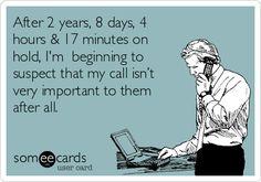 I hate calling customer service!