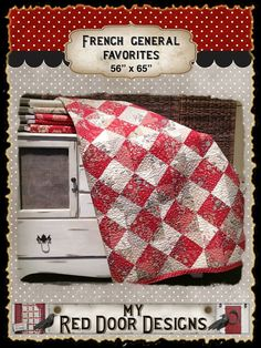 French General Favorites PDF quilt pattern on Etsy, $6.50