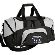 Small Colorblock Sport Duffel Bag