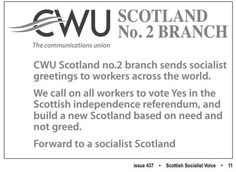 CWU for Yes