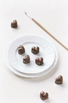 Verdade de sabor: chocolate Chocolate truffles with passion fruit