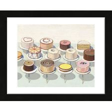 Cakes, 1963 by Thiebaud Framed Print