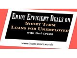 Short Term Loans for Unemployed with Bad Credit are the excellent means of borrowing money, Loan Store is surely a trustworthy loan company that vows to provide well-timed monetary help to the people, who are not working right now, for more information on these Unemployed Loans, visit: http://www.loan-store.co.uk/apply-now.html
