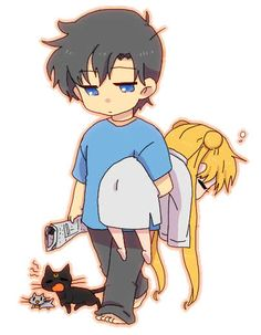 Sailor Moon: Mamoru and Usagi hujandikalasenja:    cuteness overload :)