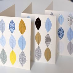 Love these cards! Great way to use fabric scraps. Fabric Cards, Paper Cards, Papers Co, Masculine Cards, Note Cards, Card Making, Stationery, Sewing, Handmade Cards