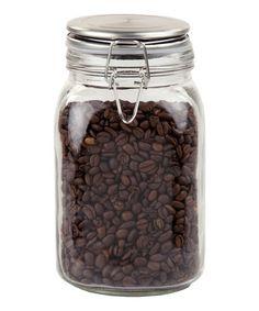 Love this 5'' Glass Jar on #zulily! #zulilyfinds