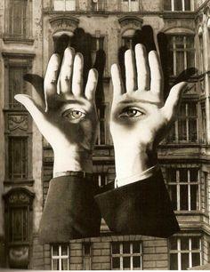 Hoy es el Día Mundial de la Poesía. Comparto con vosotros este poema genial de César Vallejo:  «Considerando en frío, imparcialmente, que el hombre es triste, tose y, sin embargo, se complace en su pecho colorado; que lo único que hace es componerse de días...» (Imagen: «La soledad del ciudadano», de Herbert Bayer.) http://www.veniracuento.com/