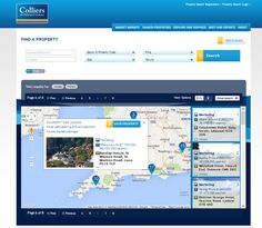 One of the ways in which you can display your results on our property search, we offer you the choice of listings or a map so that you can search the way you prefer - Colliers International UK and Ireland Property Search designed and built by Intelligent Mobile www.colliersproeprty.co.uk