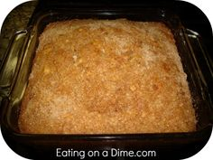 *Easy Coffee Cake...Most ingredients you should have in your pantry...Doesn't this look Delicious?