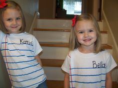 So I recently made these really adorable and easy shirts for my girls. They are made to look like a piece of notebook paper and remind me of school, so with school just beginning for the year and …
