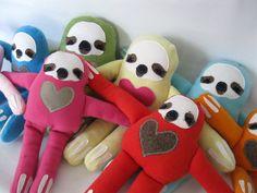 Sloth Plush Soft Toy Stuffed Animal by rileyconstruction on Etsy
